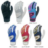 ●両手組バッティンググローブ(バッティング手袋) ●メーカー名:ベースマン ●メーカー品番:BMBG...