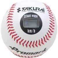 簡単スピード測定!投球時と捕球時にボール内に埋め込まれた自動回路が作動し測定結果は、液晶画面に【球速...
