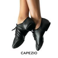 CAPEZIO(カペジオ)ジャズジューズEJ1 JazzOxford(ジャズオックスフォード)・BLK(黒)
