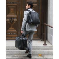 ダレスバッグ ドクターズバッグ レザー メンズ 日本製 豊岡 ビジネスリュック ビジネスバッグ 3way 軽量 出張 B4 メンズバッグ 馬革 コードバン 本革 ヨータ|basicstyle|02