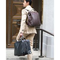 ダレスバッグ ドクターズバッグ レザー メンズ 日本製 豊岡 ビジネスリュック ビジネスバッグ 3way 軽量 出張 B4 メンズバッグ 馬革 コードバン 本革 ヨータ|basicstyle|04