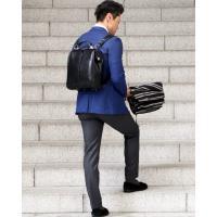 ビジネスリュック メンズ ダレスバッグ ビジネスバッグ メンズ 防水 レザー A4 日本製 豊岡 ダレスリュック YOUTA Y9|basicstyle|04