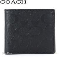 ブランド:COACH/コーチ  品名:コーチ(COACH)シグネチャー クロスグレインレザー コイン...