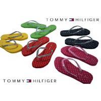 【トミー ヒルフィガー】TOMMY HILFIGER レディース 海で大活躍♪ ビーチサンダル(5色展開)