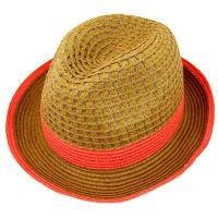 中折れ 麦わら帽子 ストローハット 折りたたみ 帽子 UVカット 日よけ帽子 メンズ レディース 夏 STRAW HAT 6552