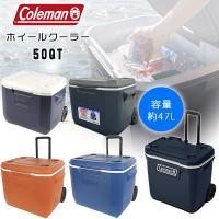 日本未発売 コールマン クーラーボックス エクストリーム ホイール クーラー/50QT【容量約47L...