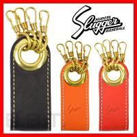 ●カラー:オレンジ、ブラック、レッド ●素材:真鍮×レザー ●久保田スラッガー キーホルダー 男性 ...