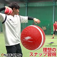 投げるだけで投球・送球時の理想的な手首のスナップを習得!練習前のキャッチボールにも最適!  「ボール...