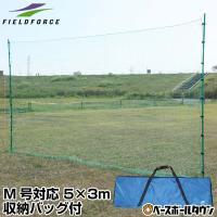 野球 バックネット 軟式用 収納バッグ付き 防球ネット 保護用ネット FBN-5030BN2 フィールドフォース ラッピング不可