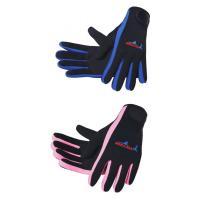 手のケガを防ぎ安全性を高める。水中用手袋。    ブルー22-28センチ Lサイズ (男性サイズ) ...