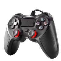 PS4コントローラー 有線コントローラー HD振動 PS3 PC対応  高耐久ボタン 最新バージョン6.70対応