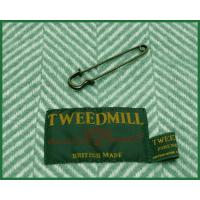 TWEEDMILL Pure New Wool Knee Rug stole Hunting Robertson / ツイードミル ウールニーラグタータンチェック グリーン ブルー ブラック