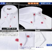 カッターシャツ 半袖 3l 4l 5l 6l 大きいサイズ  安い 衿 首 45 47 49 51 クールビズ メンズ /wht-907