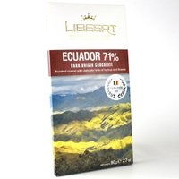 Libeert リベール オリジンチョコ エクアドル71% 80g タブレット|bebebe