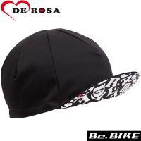 DE ROSA(デローザ) 470 UNDER VISOR REVO CAP ブラック F 自転車 ...
