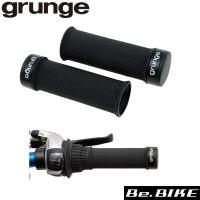 gurunge(グランジ) Sロックショートスリムグリップ ブラック 自転車 グリップ  キッズMT...