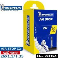 Michelin(ミシュラン) AIR STOP C2 26X1.1/1.5 FV 40 自転車 チ...
