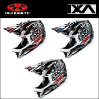 OGK IXA-GRI 自転車 カーボンコンポジット帽体を採用したイクサのグラフィックモデル。【ロー...
