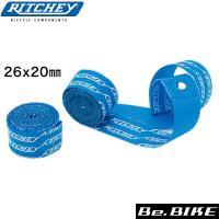 RITCHEY(リッチー) スナップオンリムテープ 26 ブルー 自転車 リムテープ