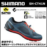 SH-CT41N ネイビー shimano シマノ クリッカー(CLICK'R) SPD シューズ ...