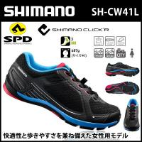 SH-CW41L 【ブラック】 シマノ shimano クリッカー Click'r SPD シューズ...