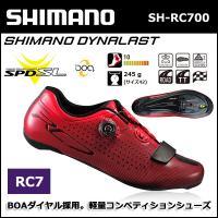 RC7 RC7(SH-RC700) SPD-SL シューズ レッド シマノシューズ bebike  ...
