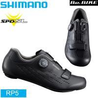 RP5 SH-RP500 SPD-SL シューズ ブラック シマノシューズ  アッパー:シンセティッ...