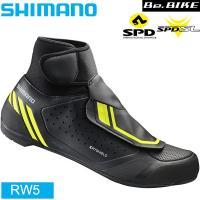 シマノ(shimano) RW5 [ブラック] SPD-SL / SPD クリート 両対応シューズ ...