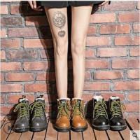 スノーブーツ ショートブーツ レディース ブーツ フェイクファー 裏ボア 女性用 短靴 シューズ ローヒール