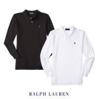 クラシックポニー刺繍ワンポイントのシンプルで合わせやすいラルフローレンのポロシャツ! 長袖で秋冬から...