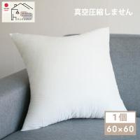 ヌードクッション 肉厚 60×60 日本製 東レFT綿使用 ふっかふかのままお届け クッション 中身 セアテ 背当て