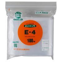 ユニパック E-4(200枚袋入) 生産日本社 日本国内製造品