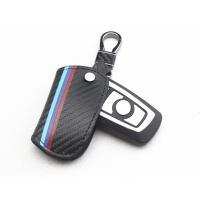 BMW用のスマートキーケースになります。 綾織カーボン柄レザーを使用しております。 BMWのトレード...