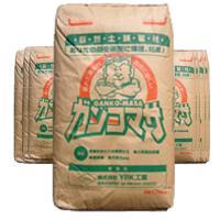 雑草防止.防草対策に水をかけるだけで固まる土「ガンコマサ」 発売以来14年以上の防草効果【永土】