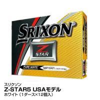 ゴルフ ゴルフボール DUNLOP ダンロップ スリクソン Z-STAR5 USAモデル 1ダース12個入  ホワイト_4907913078903_91