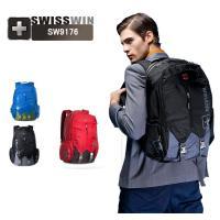 リュックサックSWISSWIN 男女兼用 登山 旅行バッグ 機能満載 ノートPC入れ 通勤用 アウトドアSW9176