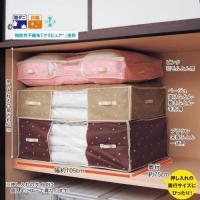 サイズを揃えて、デッドスペースを少なく。いろんな布団をすっきり収納できます。  サイズの違う様々な寝...
