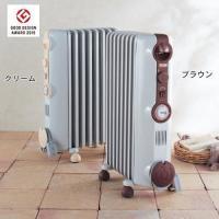 やさしく、あたたかい空気。それがオイルヒーター。  表面温度が高くなりすぎないL字型フィンを採用した...