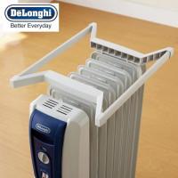 衣類の温め、乾燥に便利なオイルヒーター専用トップハンガー  オイルヒーターに取り付ければ、ヒーターの...