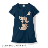 ディズニー フレア袖チュニックTシャツ 「4L〜6L」