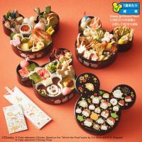 おいしく楽しく、人気のディズニー ツムツムもお目見え! ミッキーマウス型の甘いおもちや、ミッキーマウ...
