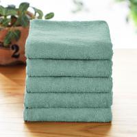 タオル フェイスタオル まとめ買い 安い セット 5枚 おしゃれ 綿100% ふわふわ ふんわり 乾きやすい シンプル 新生活 約34×75cm