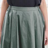 汗染みしにくい セットアップで着られるスカート 「4L〜6L」