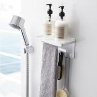 シャワーヘッド横のスペースに取り付けて使い勝手アップ♪  バスタイムのアイテムをひとまとめに収納でき...