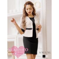 ◆Information◆8024 ☆ワンピースにジャケットを羽織った様なデザインで、フェイクジャケ...