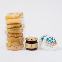 人気商品のため販売期間延長!! ベノアで大人気の手作りスコーン4種と、英国直輸入のクロテッドクリーム...