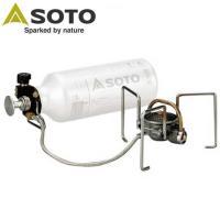予熱不要のガソリンストーブ「MUKAストーブ」 ガスストーブの扱いやすさとガソリンストーブの力強さを...