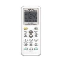 エアコンリモコン マルチリモコン リモコン 各社共通1000機種対応 汎用 SANYO/DAIKIN/SHARP/HITACHI/MITSUBISHI/TOSHIBA/Panasonic等【日本語説明書付】ライト|1
