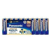 Panasonic LR6EJ/20SW パナソニック LR6EJ20SW EVOLTA エボルタ 単3形 アルカリ乾電池 20本 パック|1