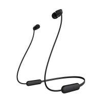 SONY ソニー ワイヤレスイヤホン WI-C200 BC Bluetooth対応/最大15時間連続再生/マイク付き 2019年モデル ブラック